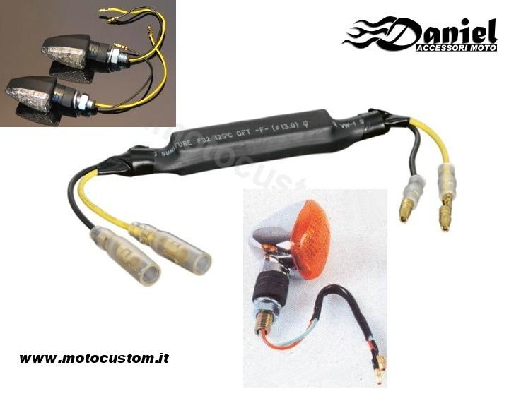 Schema Elettrico Per Faretti Moto : Collegamenti elettrici daniel accessori moto