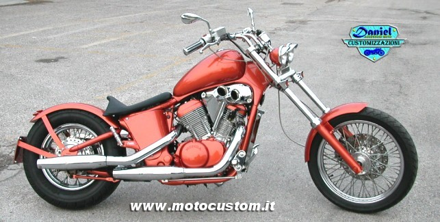 Honda Shadow VT600 Sergio