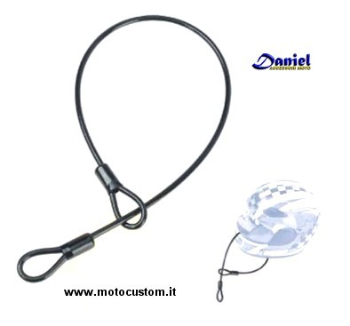 Cavetto casco cod 1142, Daniel accessori moto