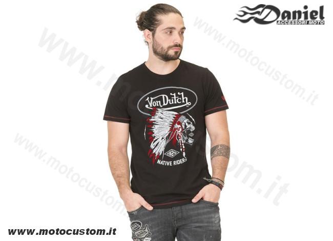 newest ace25 e6aa5 T-Shirt Von Dutch Indian