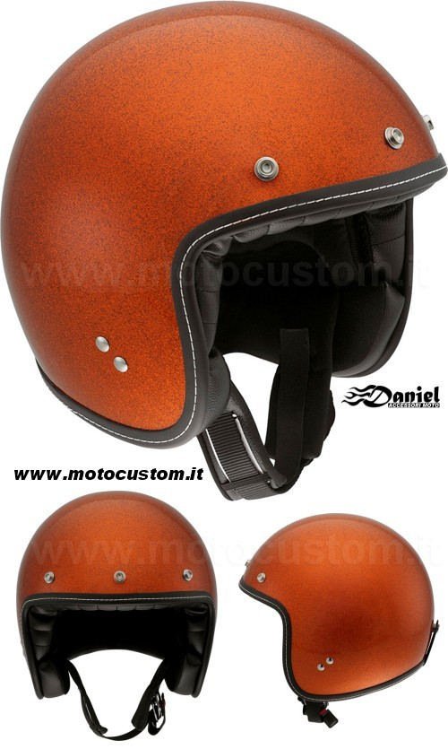 casco Agv RP60 Metal Flake Orange , Daniel accessori moto