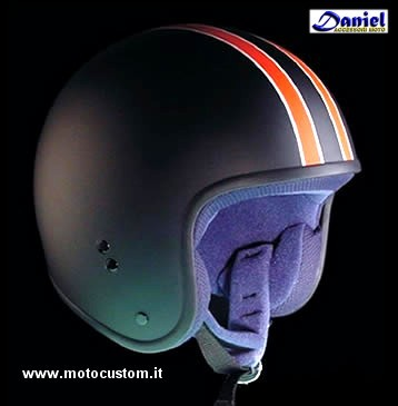 casco CAFE RigheArancio , Daniel accessori moto