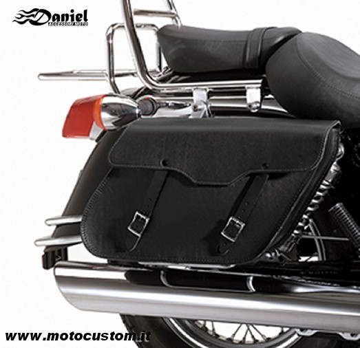 Bisacce Ledrie Inclinate cod LZAD2 1041, Daniel accessori moto