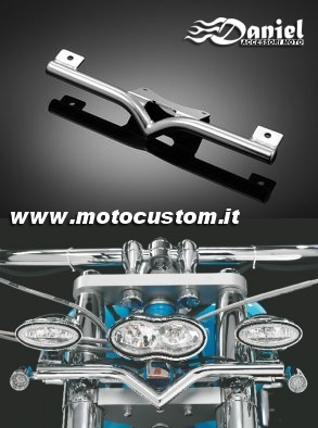 staffe doppi fari V-bar , Daniel accessori moto