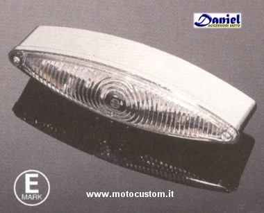 luce Tech Glide omol LED cod 1002611, Daniel accessori moto