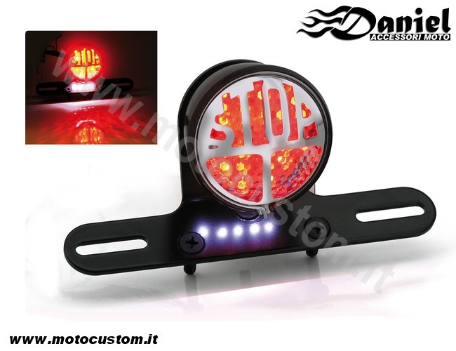 faretto Stop base Led cod 165562, Daniel accessori moto