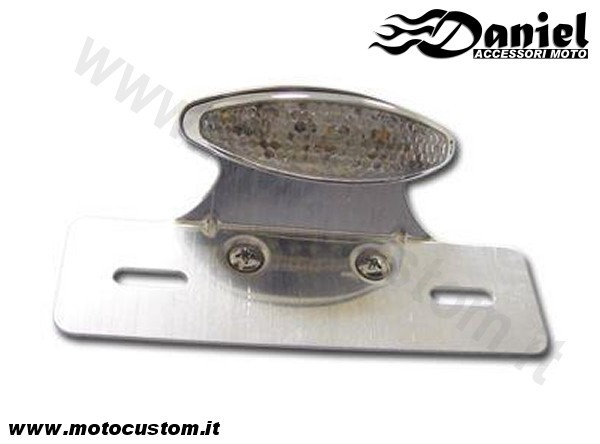 mini faretto LED2 Plus base cod 1002577, Daniel accessori moto