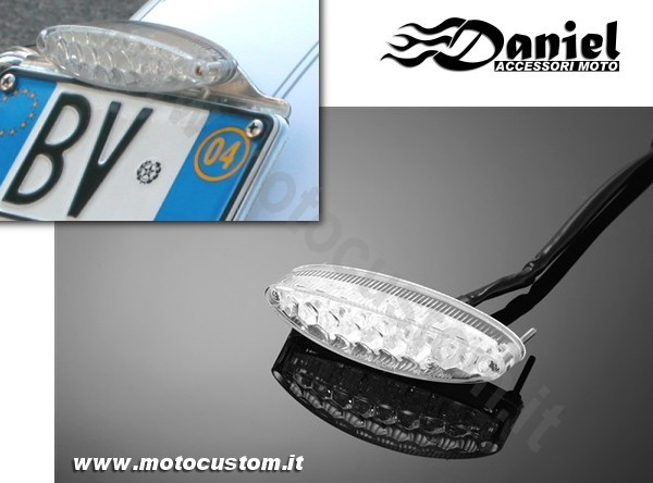 mini faretto LED Plus cod 68 255977, Daniel accessori moto