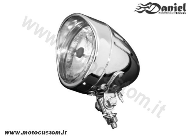 faro custom Spotlight cod 1249, Daniel accessori moto