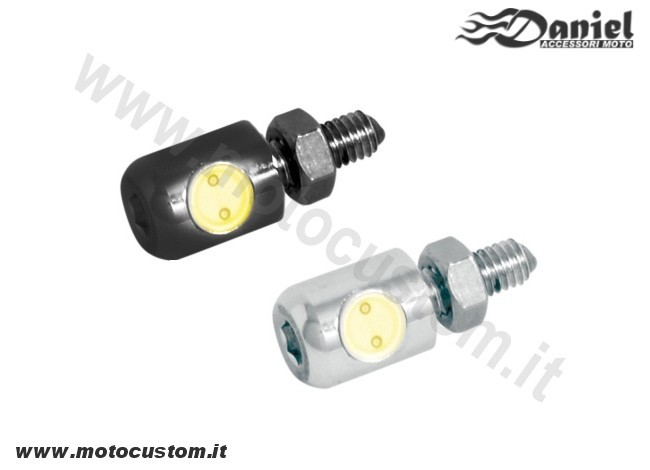 Mini luce targa led , Daniel accessori moto