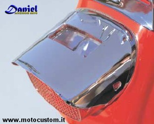 cover fanale post HD cod 301326, Daniel accessori moto