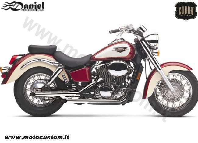 Drag pipes Shadow ACE C2 VT750 cod 1976, Daniel accessori moto