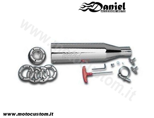 Supertrapp 3int 50 cod 11147, Daniel accessori moto
