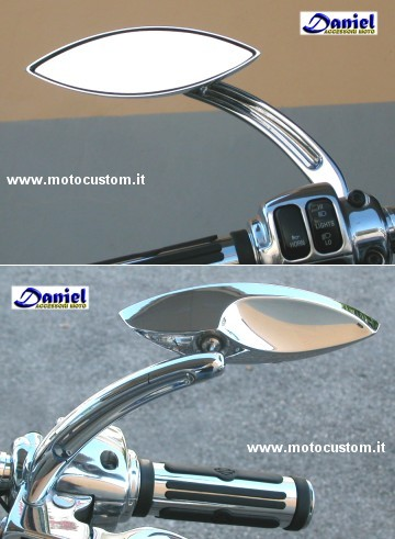 specchi High Tech cod 91 821, Daniel accessori moto