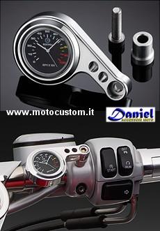 Orologio Per Moto Custom E Stradali Daniel Accessori Moto