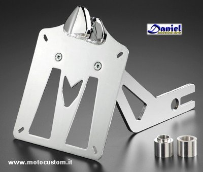 Portatarga laterale VT 600 Shadow Ziener