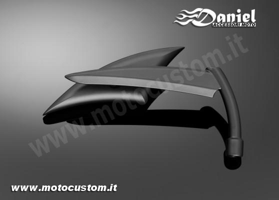 Specchio razor blade b per moto custom e stradali daniel accessori moto - Specchi stradali vendita ...
